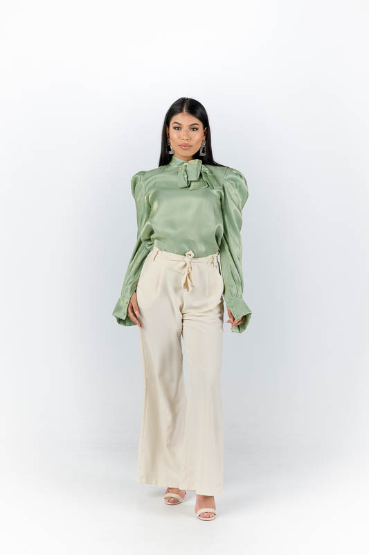 Leila Blouse - Mint