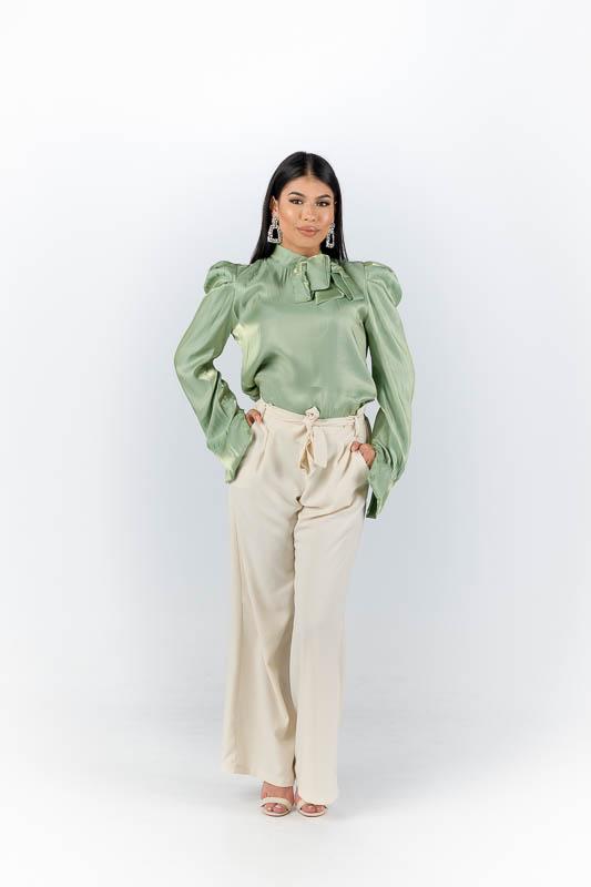 Leila Blouse - Mint