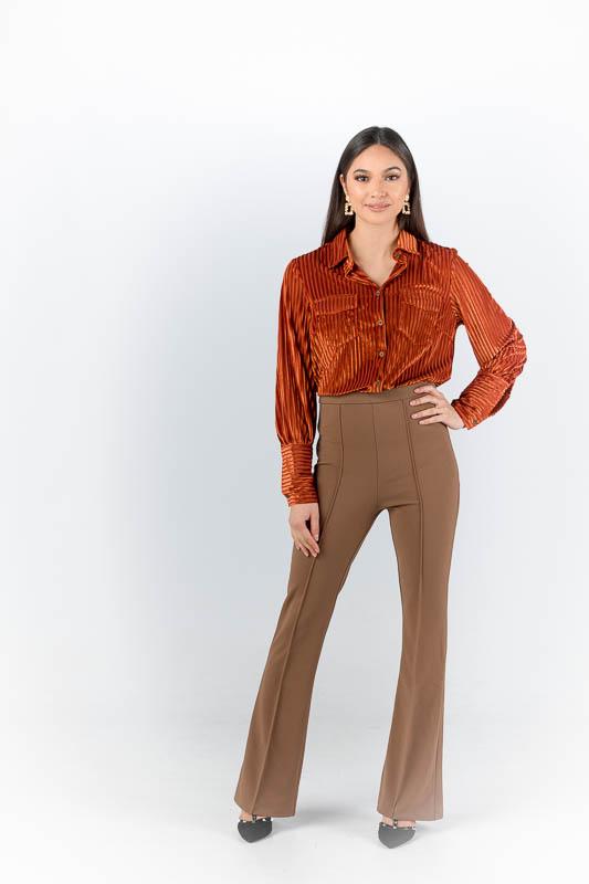 Bruine pantalon