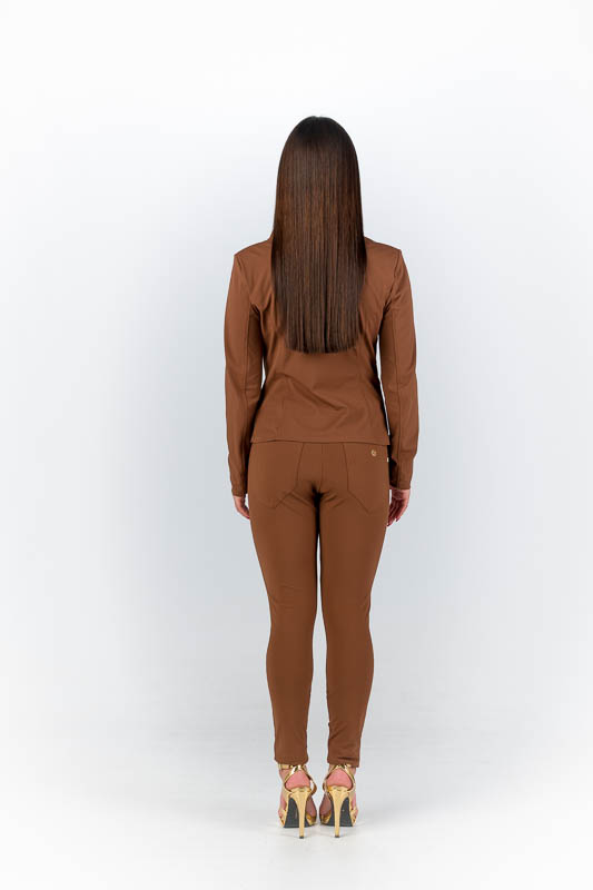My Pashion | Tracy Trouser - Tobacco