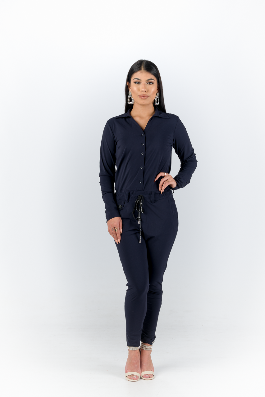 Blauwe Jumpsuit My Pashion