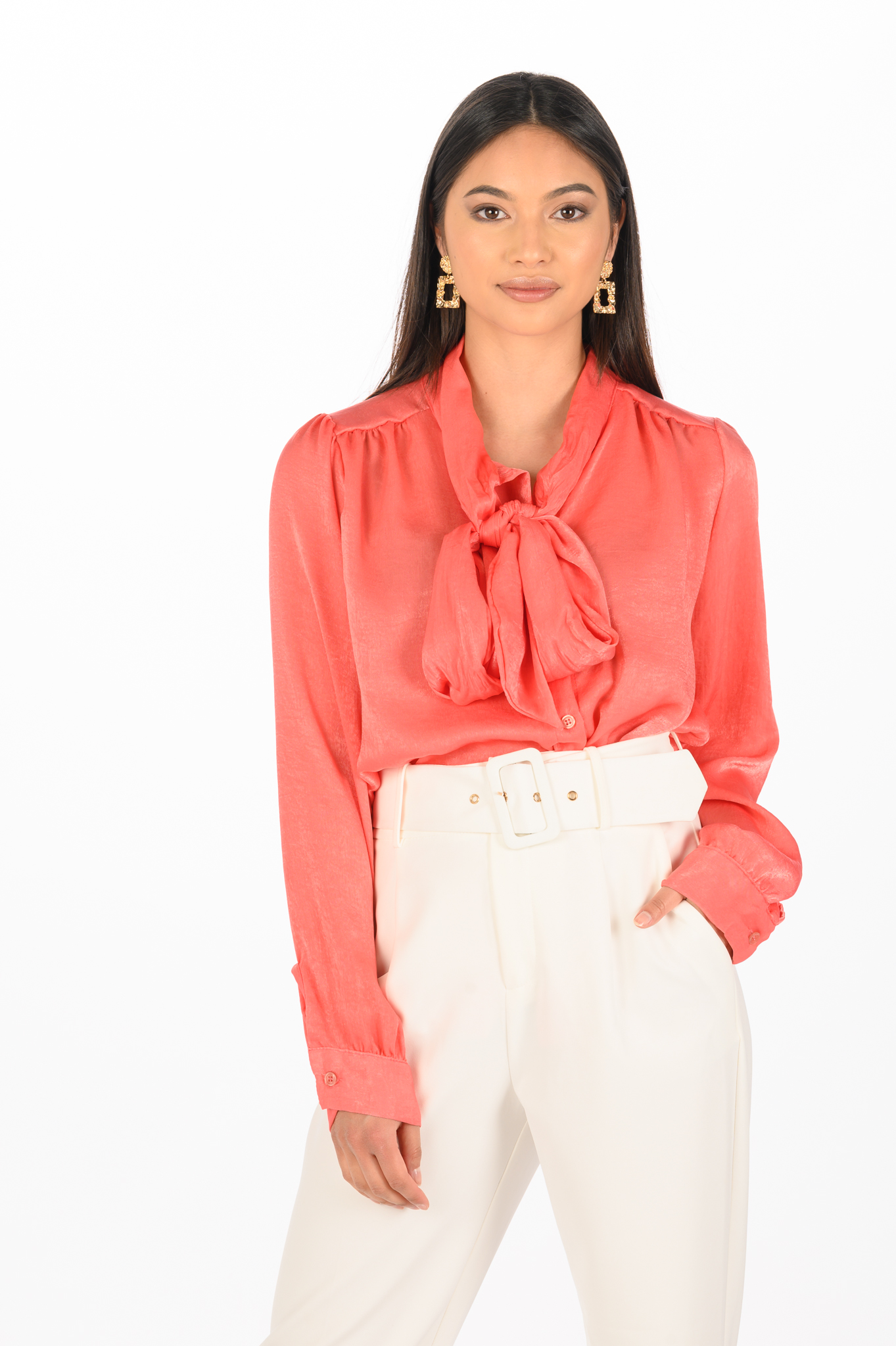 Koraal Blouse Madam Peach