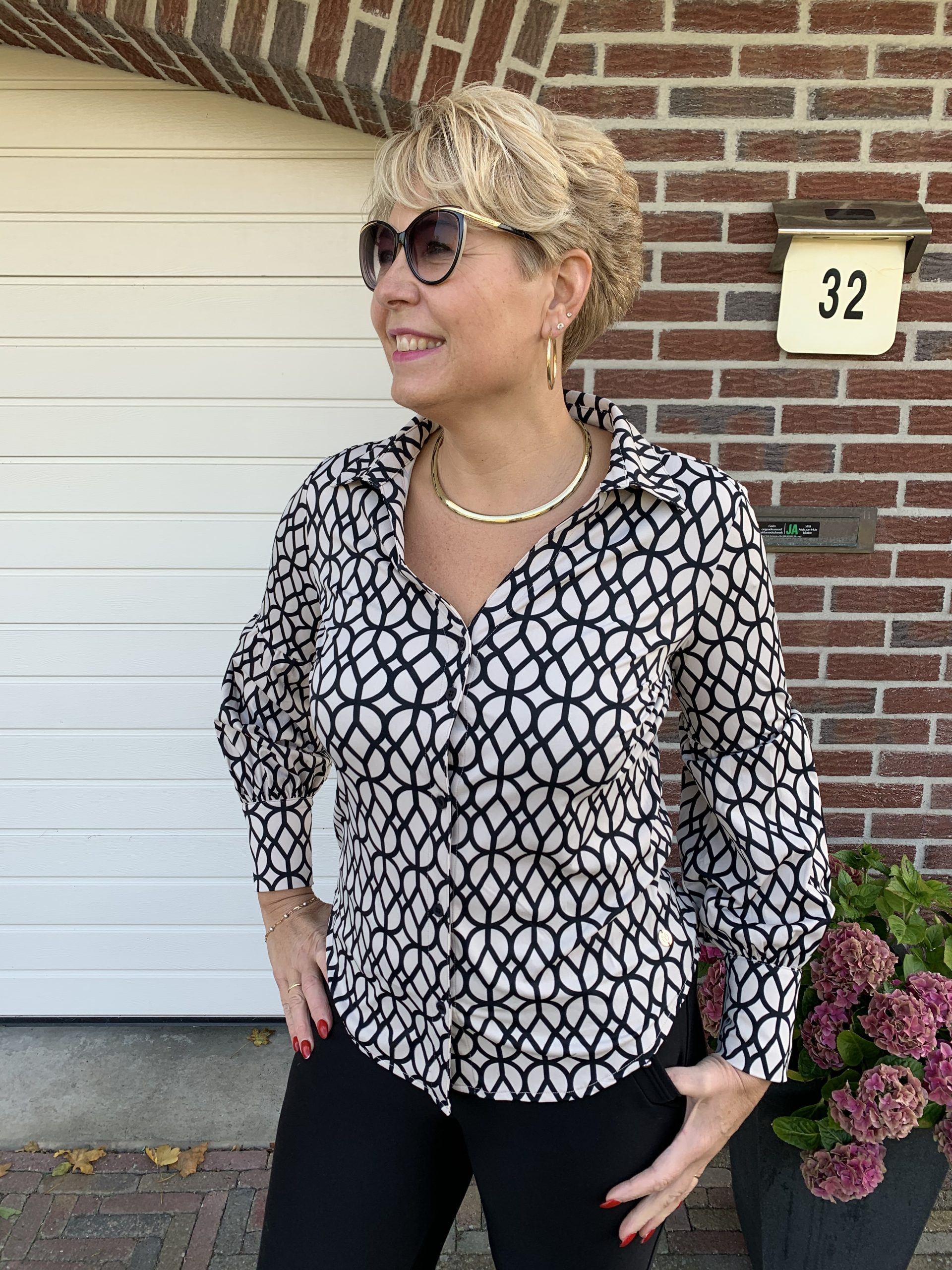 Y-Conic Blouse