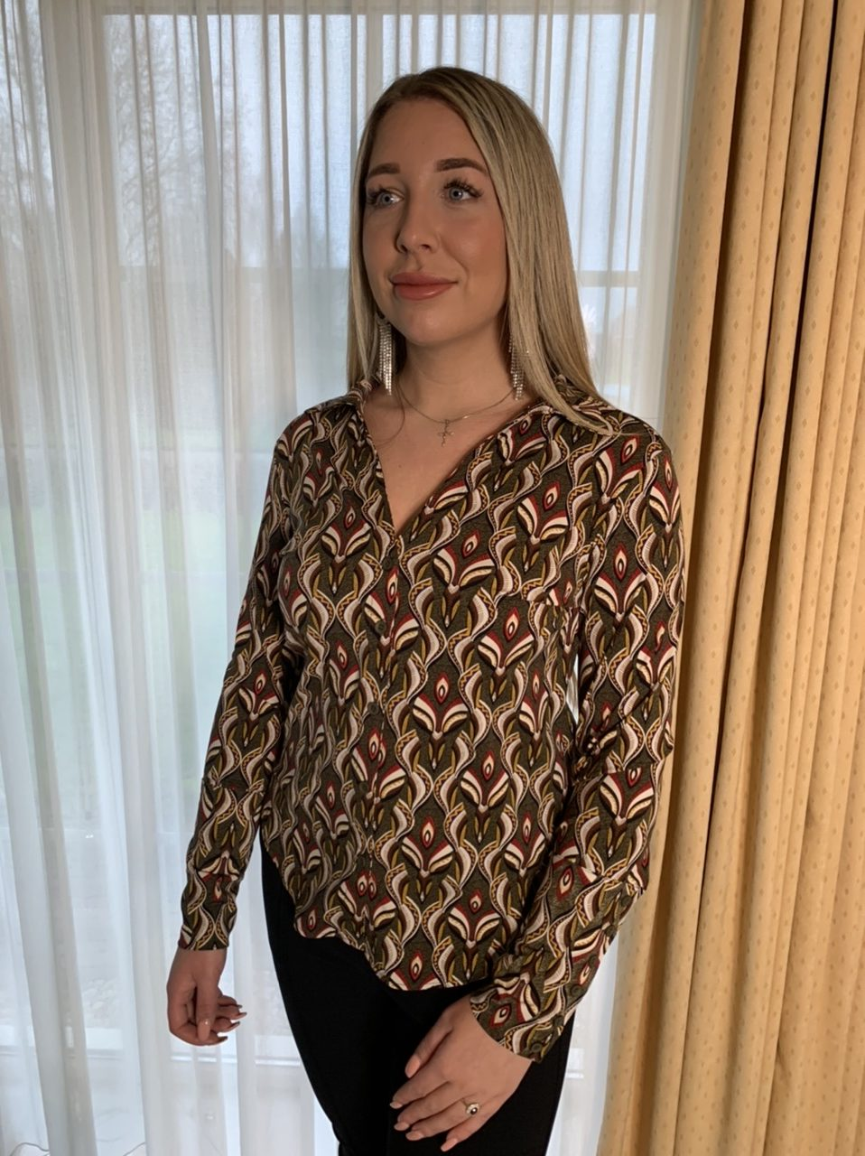 Y-Conic Blouse Travelstof