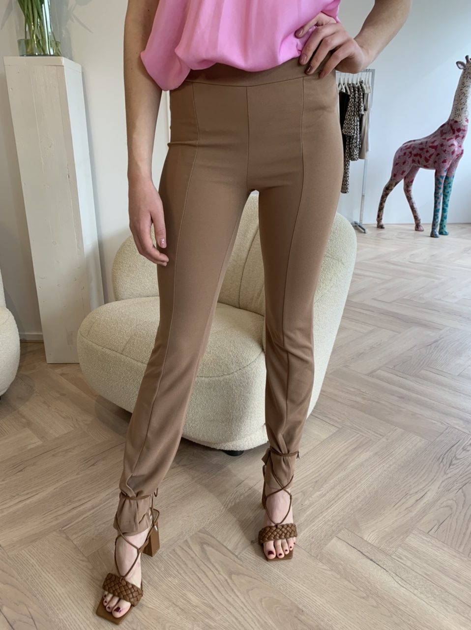 Izzy Trouser - Brown