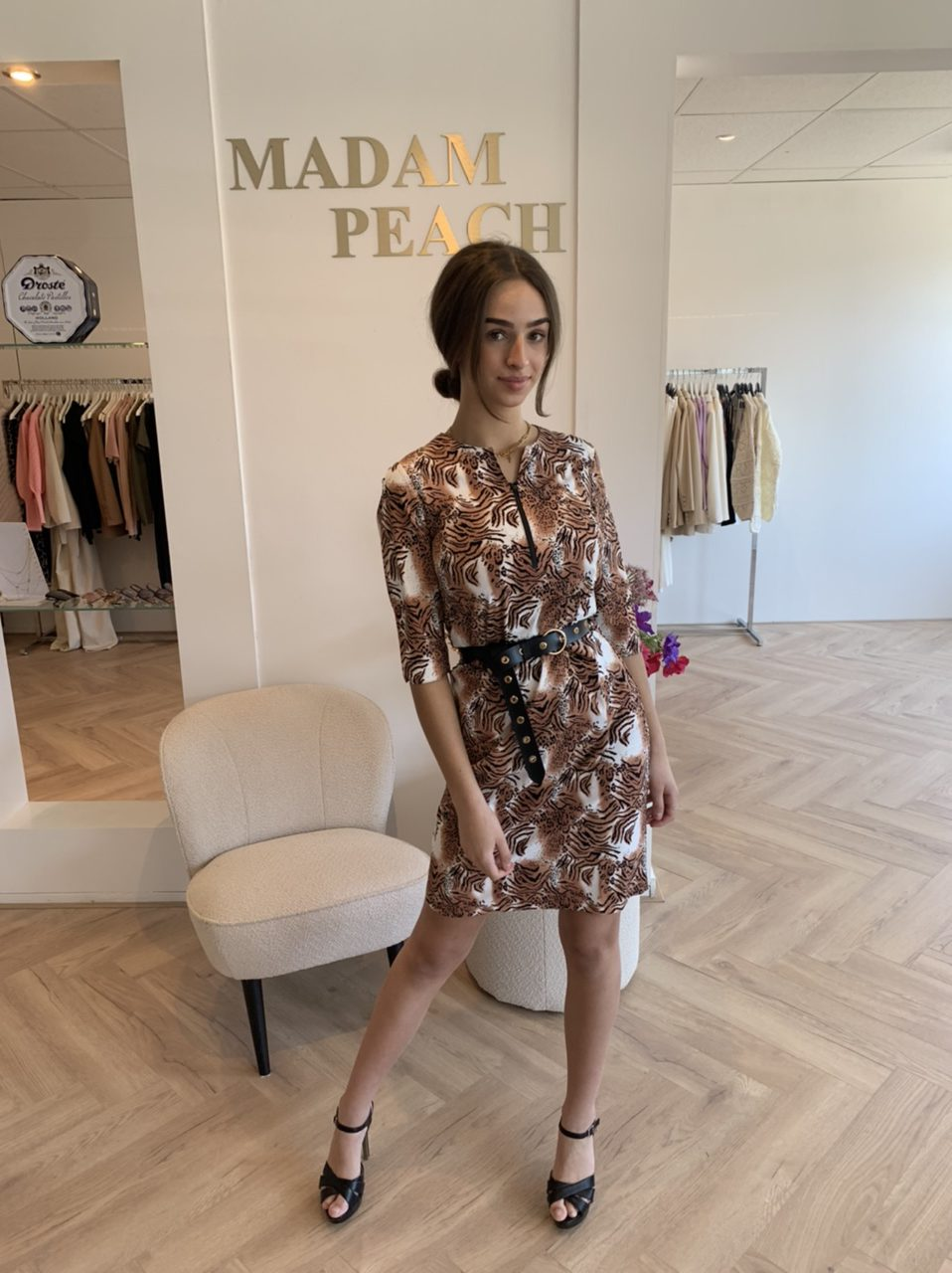My Pashion Jurk Dexmy Dress - Travelstof