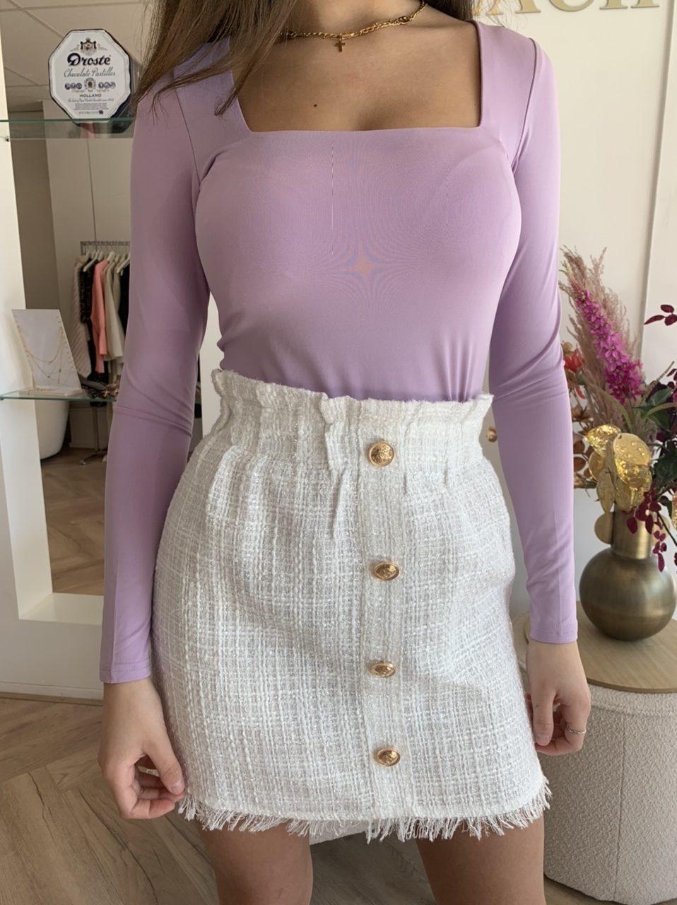 Top Romee - Purple - Madam Peach