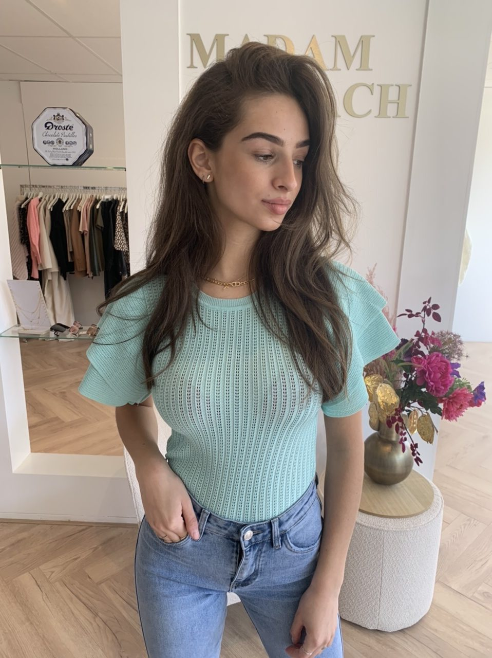 Shaila Top - Turquoise