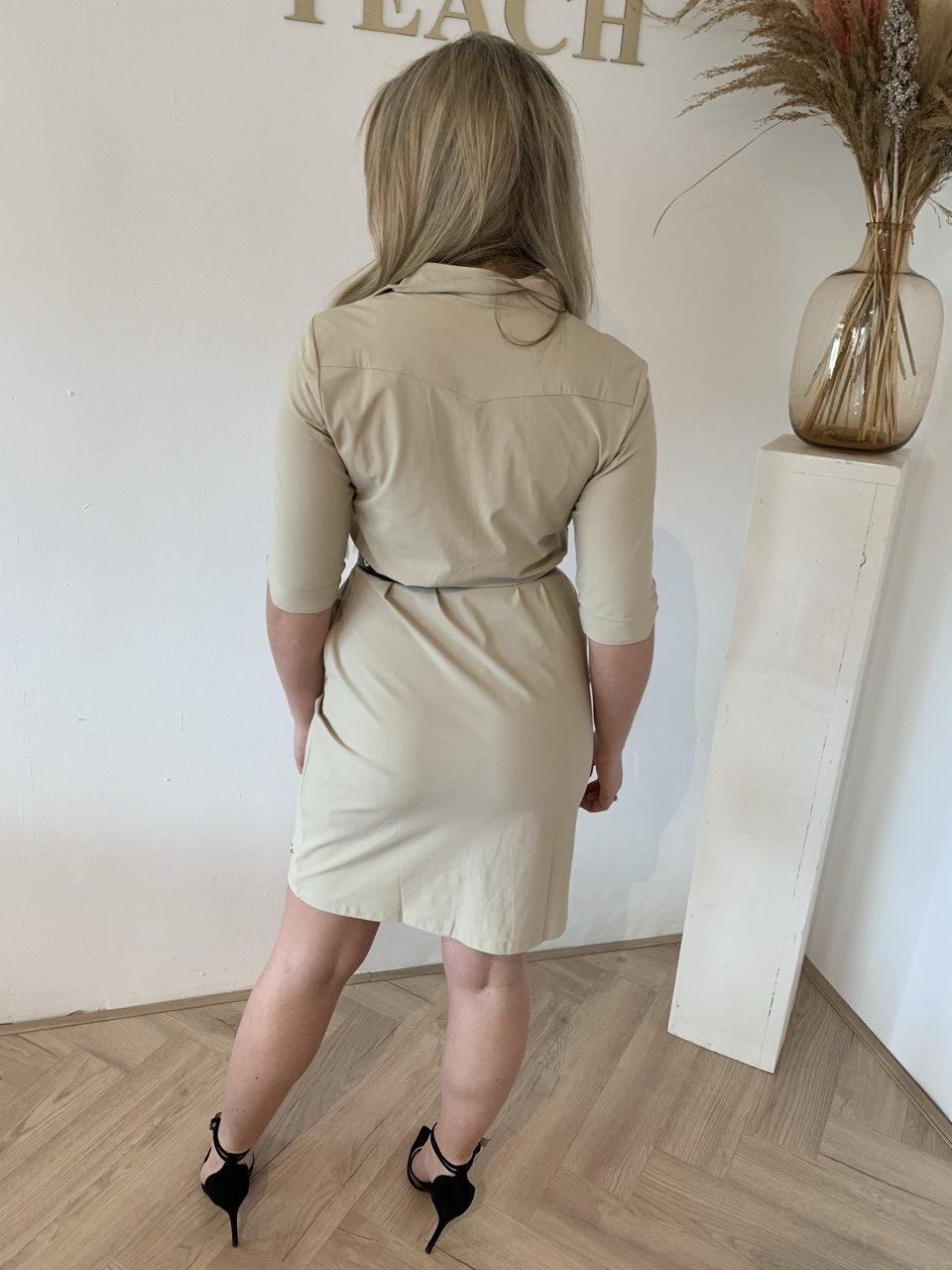 Y-Conic Aplonia Travelstof Dress