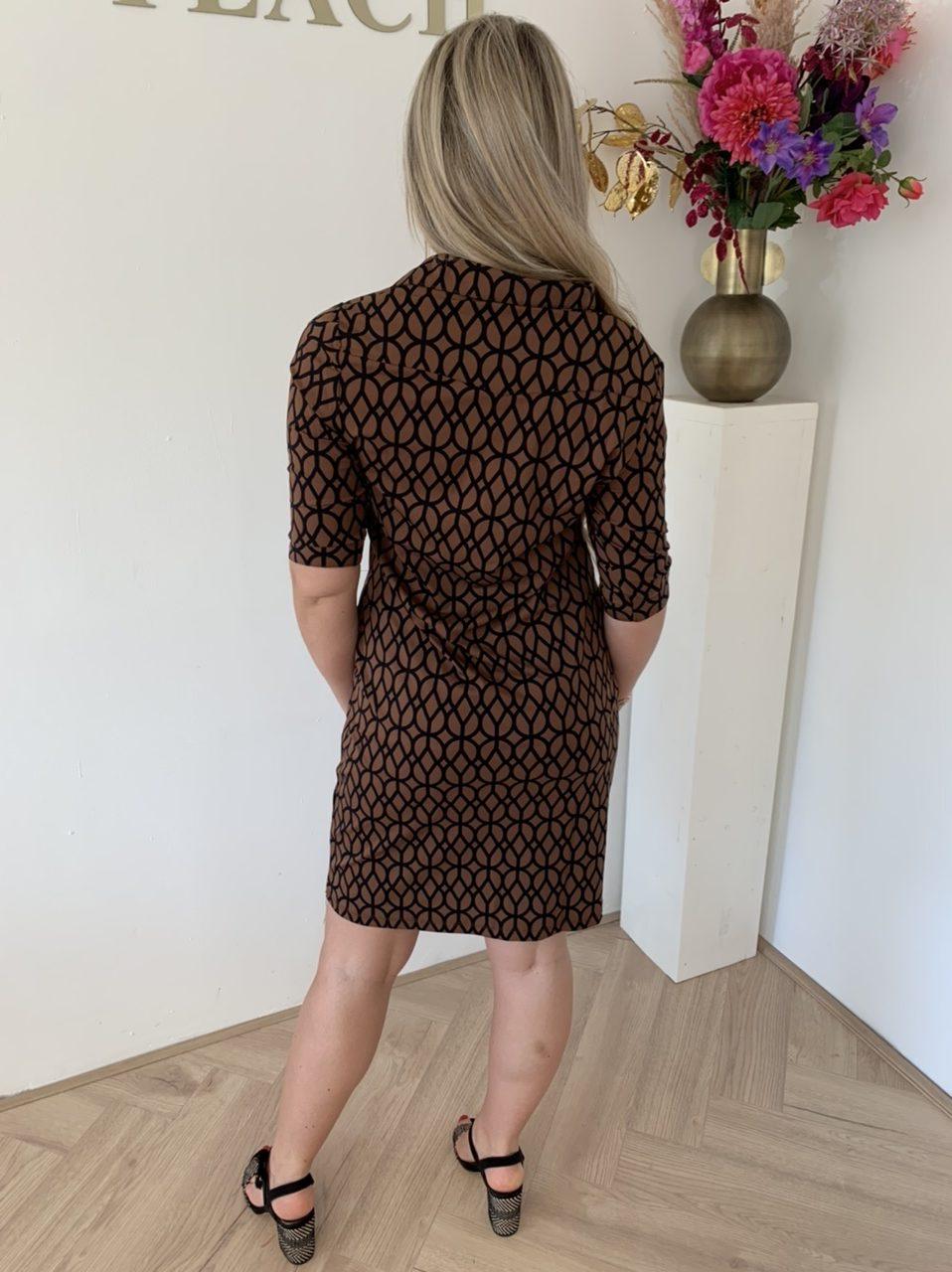 Y-Conic Dress Dodine Travelstof