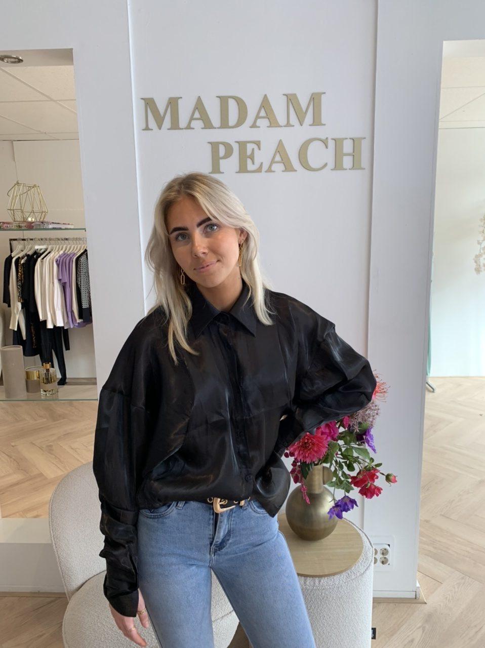 Madam Peach Marit Blous e